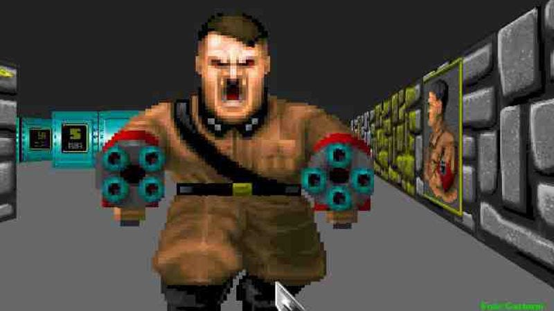 Illustration for article titled Castle Wolfenstein movie will kill all the Nazis for you