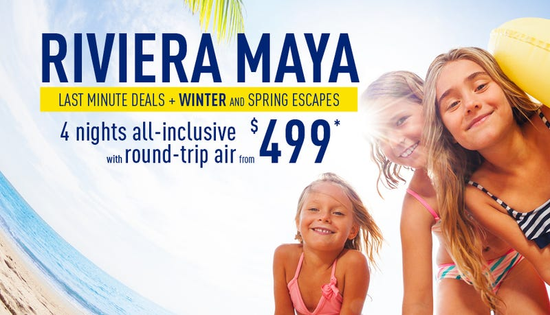 Riviera Maya All Inclusive Vacation Packages | $499+ | Vacation Express