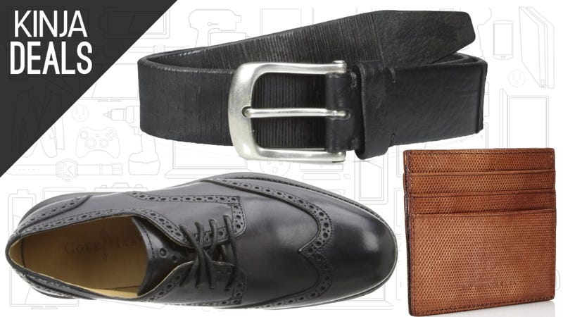 Illustration for article titled Save Big on Shoes, Belts, Wallets, and More, Today Only on Amazon