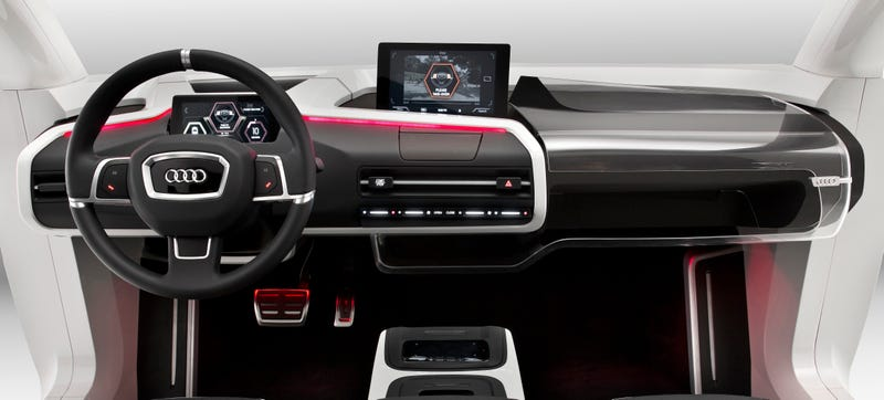 Illustration for article titled Is This What Your Car's Cockpit Will Look Like In 2025?