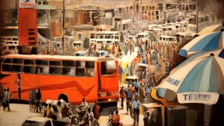 Illustration for article titled The Rich Colors of East African City Traffic