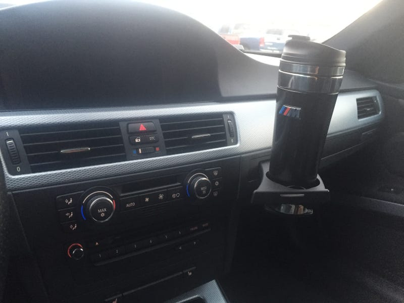 Illustration for article titled I really like E9Xs, but come on BMW the cup holders are terrible
