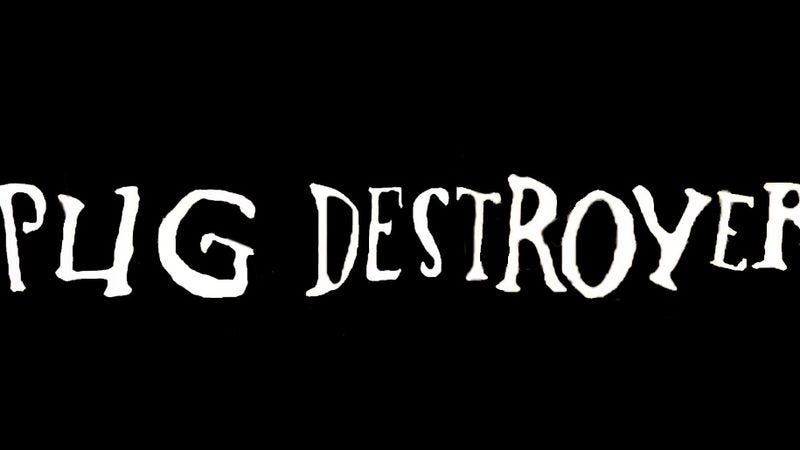 Illustration for article titled Pugs singing death metal = Pug Destroyer
