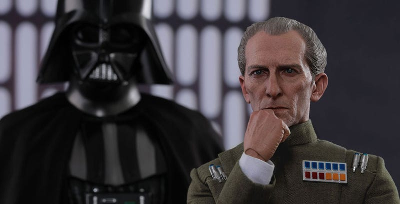 Illustration for article titled Grand Moff Tarkin Toy Looks Better Than The Rogue One Version