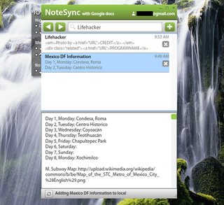 Illustration for article titled NoteSync Is a Lightweight Note-Taker that Syncs with Google Docs