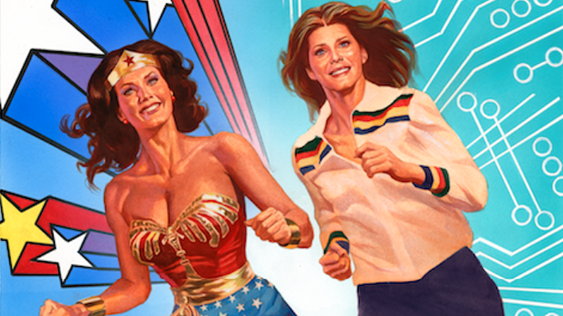 Illustration for article titled Wonder Woman '77 and The Bionic Woman Are Teaming Up For a Groovy New Comic