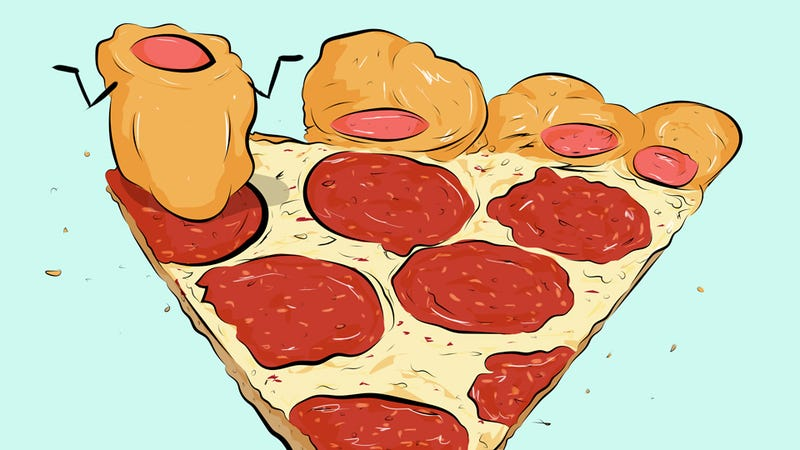 Illustration for article titled Pizza Hut's Hot Dog Pizza Isn't Quite Gross Enough