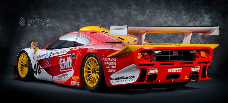 Illustration for article titled Please Inspect The McLaren F1 GTR Long Tail Called Big Mac