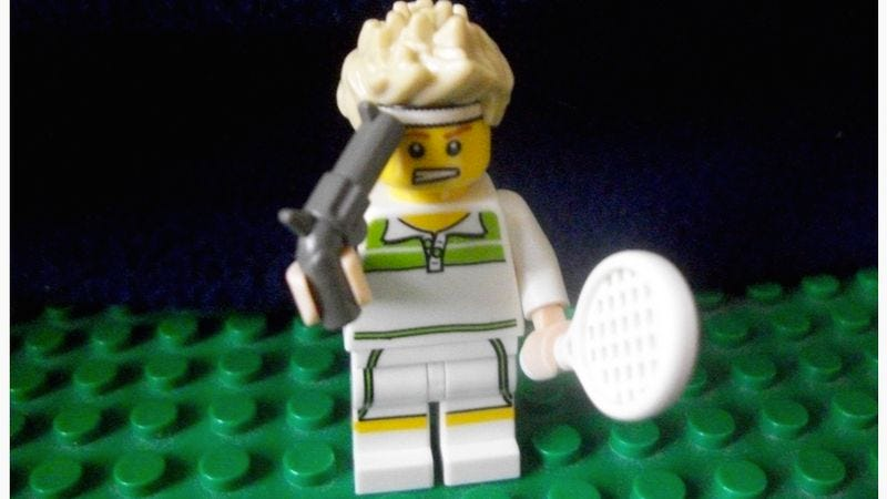 Illustration for article titled Lego Infinite Jest is just slightly less expansive than its book form