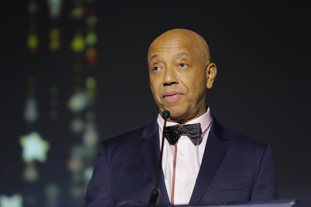 Russell Simmons onstage at the 2017 Make a Wish Gala on Nov. 9, 2017, in Los Angeles (Tiffany Rose/Getty Images for Make a Wish)