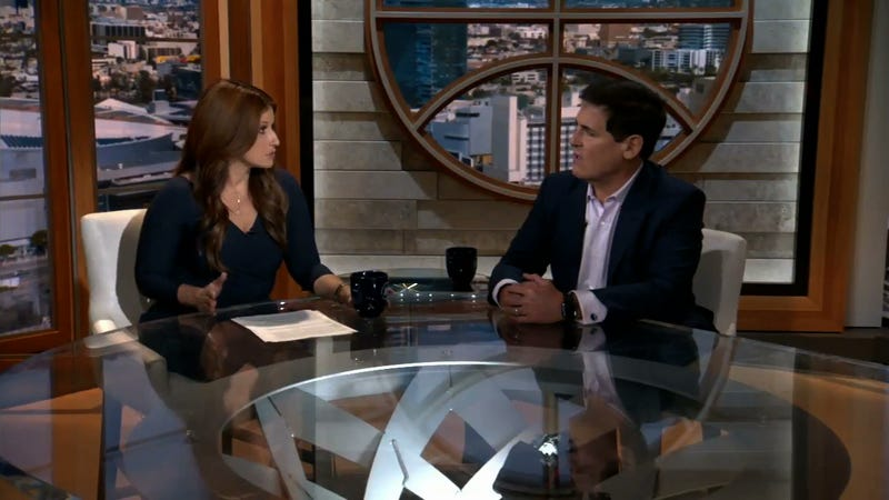 Illustration for article titled Rachel Nichols Grills Mark Cuban, Who Has No Good Answers
