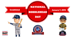 Illustration for article titled  NATIONAL BOBBLEHEAD DAY – NATIONAL TEMPURA DAY