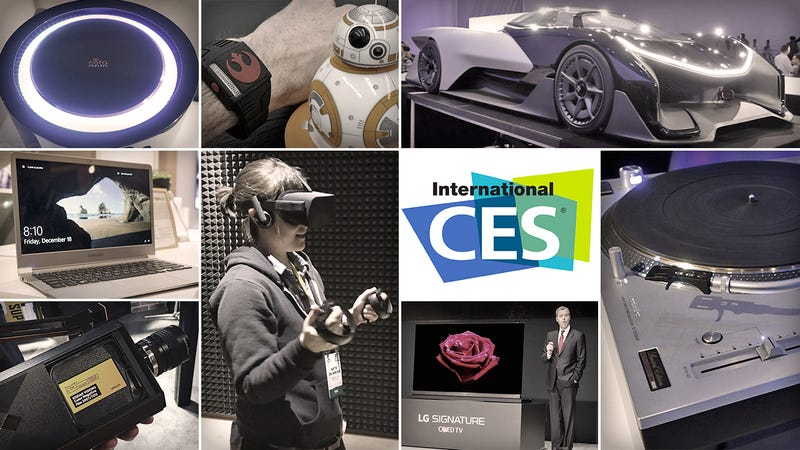 Illustration for article titled All the Coolest Tech From CES 2016