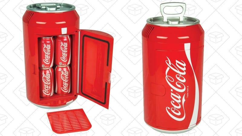 Coke Can 8-Can Fridge, $49