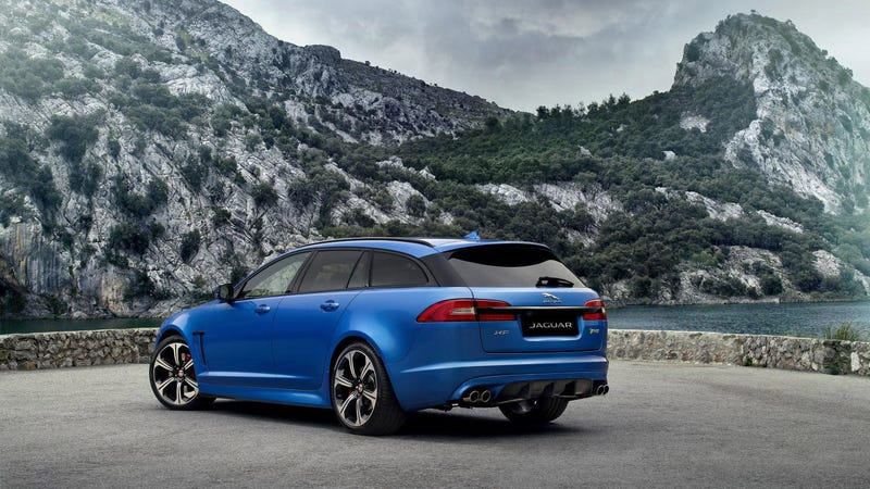Illustration for article titled The Jaguar XFR-S Sportbrake Is A 186 MPH Wagon We Want Badly