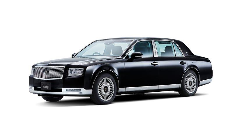 Illustration for article titled The New Toyota Century Is Like Toyota's Lincoln Continental Except Way Cooler