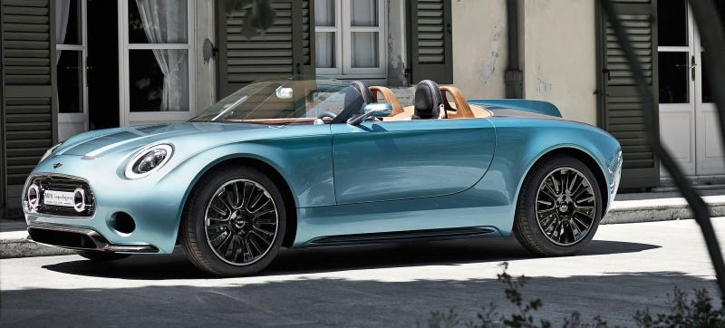 Illustration for article titled Report: The Mini Superleggera Roadster Is Go For 2018 Production