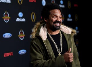 Mike Epps attends the ESPN College Football Playoff Night of Champions at Centennial Hall on Jan. 10, 2015, in Dallas.Cooper Neill/Getty Images for ESPN