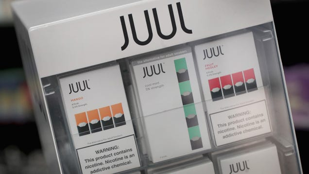 Over 1,000 Counterfeit Juul Pods Containing Questionable Substances Seized by Border Protection
