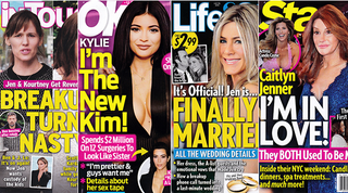 Illustration for article titled This Week in Tabloids: Jennifer Aniston Is Married As Hell Right Now