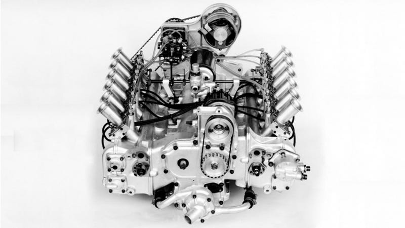 Illustration for article titled Gaze In Awe At This 2.0 Liter 12-Cylinder Ferrari Engine