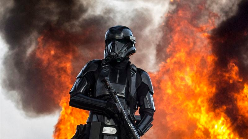 """Nothing says """"a happy future"""" like Rogue One. (Photo: Walt Disney Pictures)"""