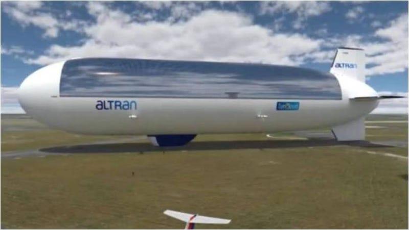 Illustration for article titled Drones a energía solar para reinventar el transporte aéreo