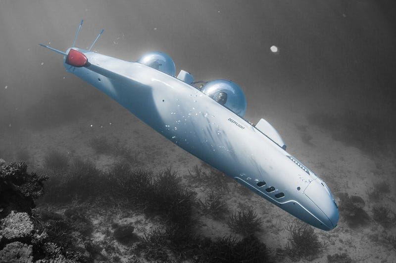 Illustration for article titled Explore the Ocean Deep in a Personal Submarine