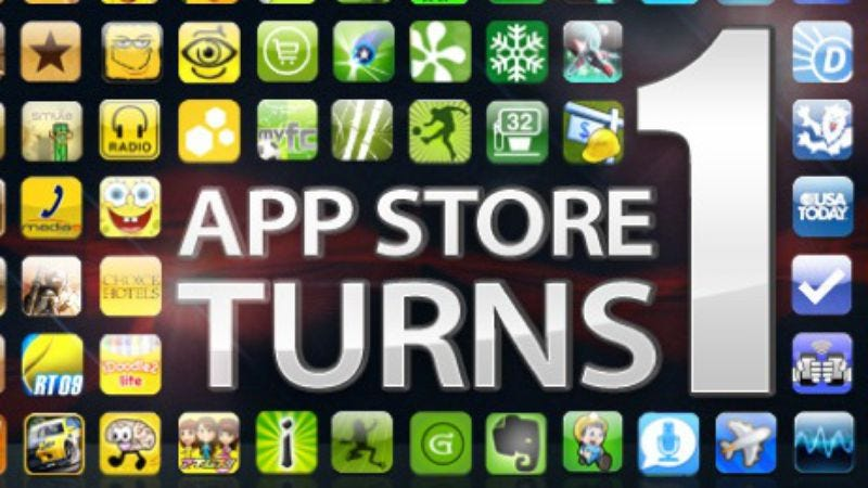 Illustration for article titled Happy Birthday, App Store!