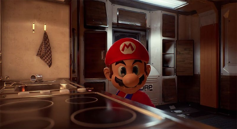 Illustration for article titled Mario In Unreal Engine 4 Just Ain't Right
