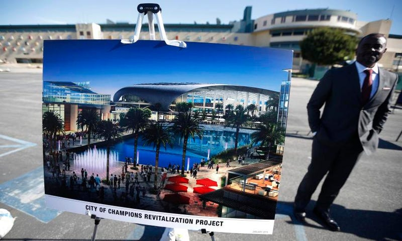 Illustration for article titled Inglewood Decides Not To Let Public Vote On Rams' Stadium