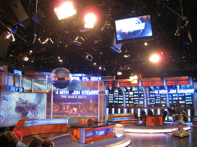 Illustration for article titled I went to today's taping of the Daily Show!