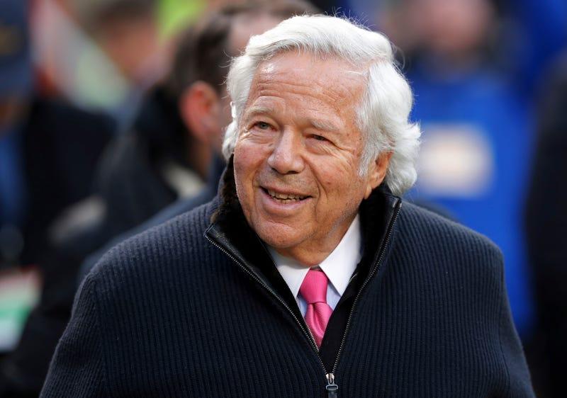 Robert Kraft Is The Silent Center Of The NFL Meetings