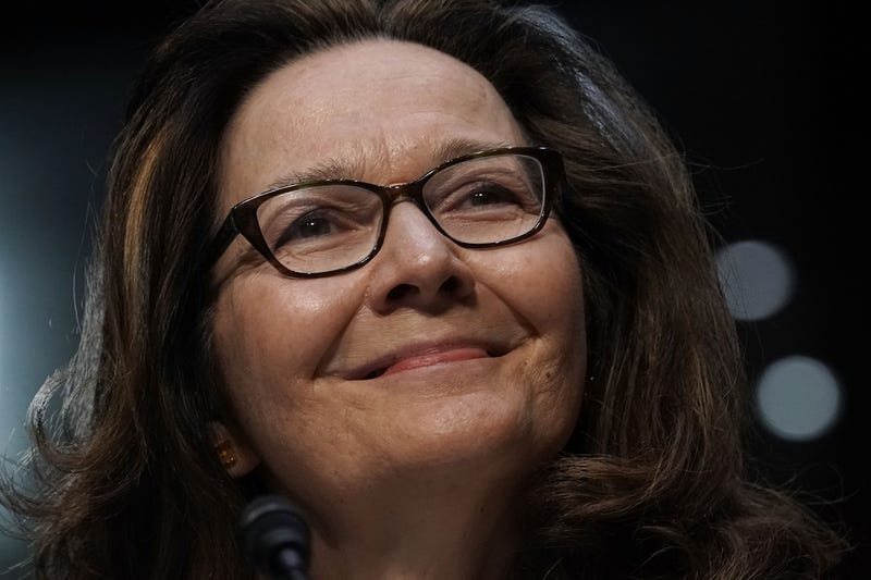 CIA-director nominee Gina Haspel speaks during her confirmation hearing before the Senate Select Committee on Intelligence on May 9, 2018, in Washington, D.C.