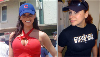"Illustration for article titled The Inane ""Cubs Fans-White Sox Fans: Who's Hotter?"" Debate Rages On"
