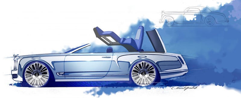 Illustration for article titled Bentley Will Not Build An Unbelievably Expensive Mulsanne Convertible