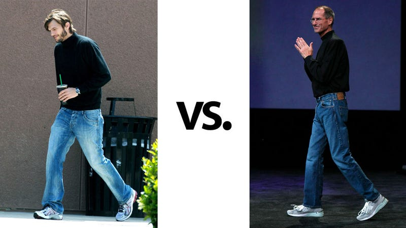 Illustration for article titled Photos of Ashton Kutcher As Steve Jobs Confirm How Bad This Movie Is Going to Be