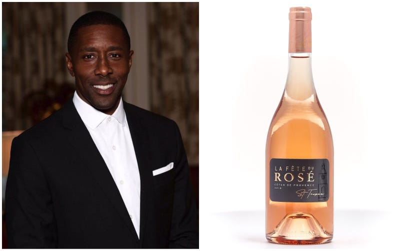 Donae Burston and his creation, La Fête du Rosé