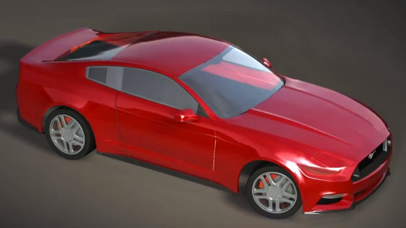 Illustration for article titled Is This What The 2015 Ford Mustang Will Look Like?