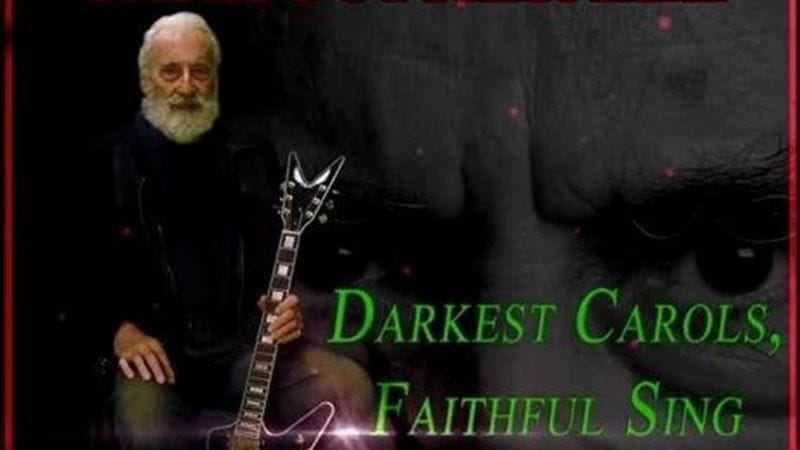 legend christopher leeaka saruman aka count dooku aka count draculahas released the third in a series of heavy metal christmas anthems - Heavy Metal Christmas