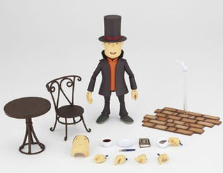 Illustration for article titled Now This Is A Professor Layton Figure