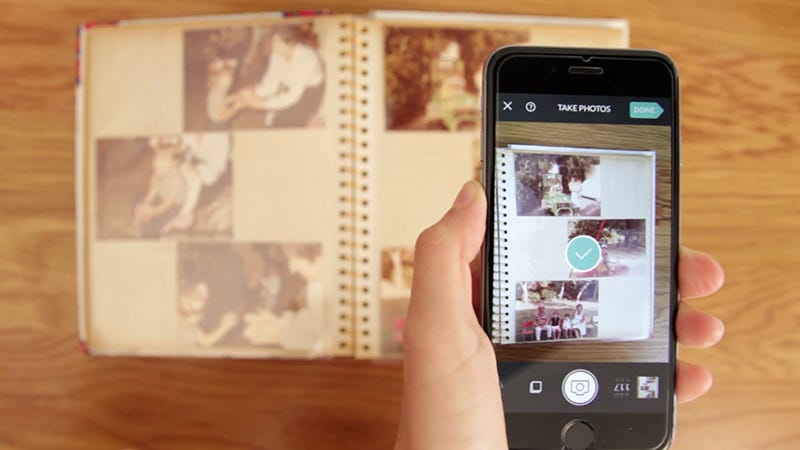 Illustration for article titled How To Save Old Film Photos With Your Phone