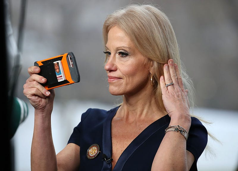 Kellyanne Conway says Anderson Cooper's viral eye roll was a sexist slight
