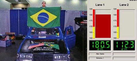 Car Subwoofer World Record Set at 180 5db