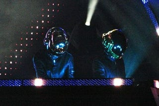 Illustration for article titled A Look At Daft Punk's DJ Hero Appearance