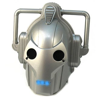 Illustration for article titled Dr. Who Cyberman Shower Radio Picks Up FM/AM/Invasion Orders