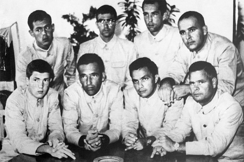La tripulación del Pueblo. Getty