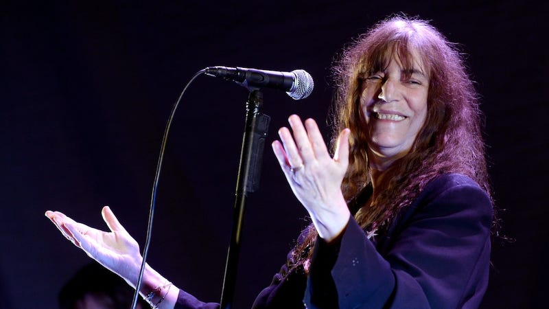 Illustration for article titled Patti Smith Continues to Work, Continues to Rule