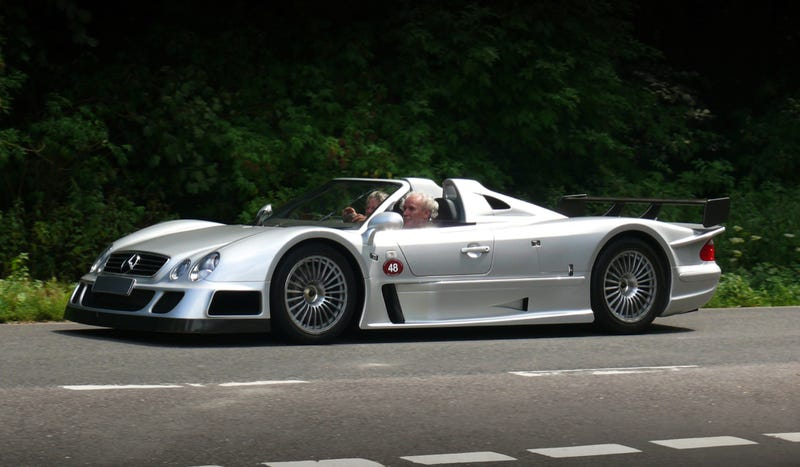Illustration for article titled Would You Drive The CLK GTR Everyday?