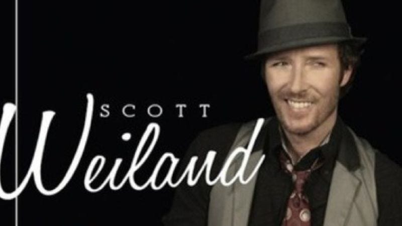 """Illustration for article titled Today in music videos: Scott Weiland's nose gets a-chillin' in """"Winter Wonderland"""""""